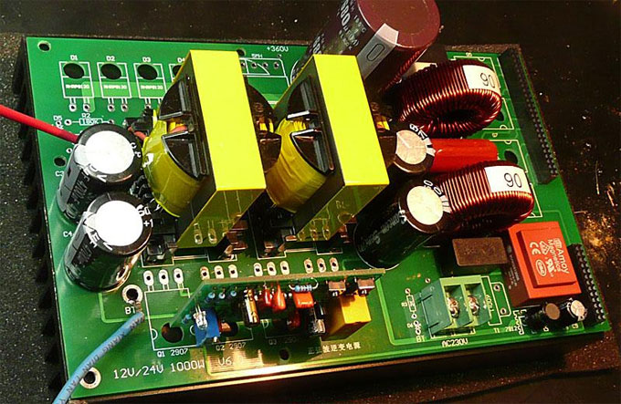 Simple And Practical 150w Power Inverter Circuit