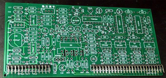 skema layout pcb driver 1000 watt untuk lapangan