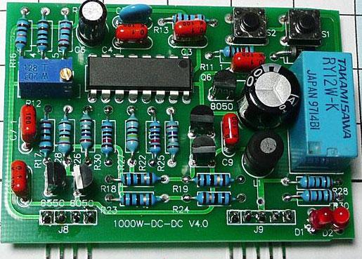 1000w inverter DC-DC driver board PCB