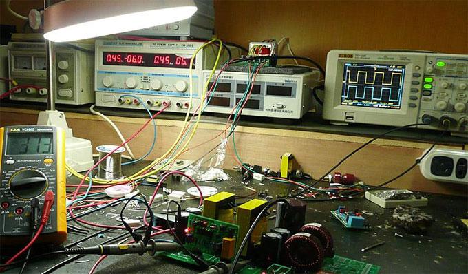1000w load waveform