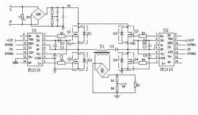 high voltage inverter design